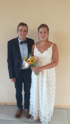 Romain Delhez et Laïyna Feron - 14/07/2018