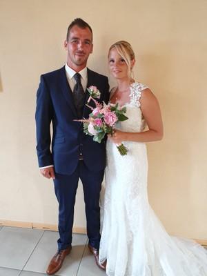 Maxime Gomand et Céline Da Paré le 13/07/2019