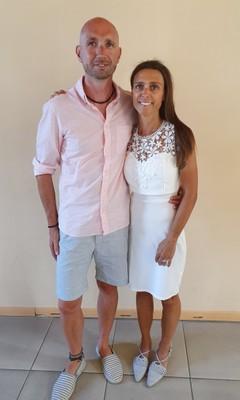 Kristof Grégoire et Marjan Declercq le 25/07/2019