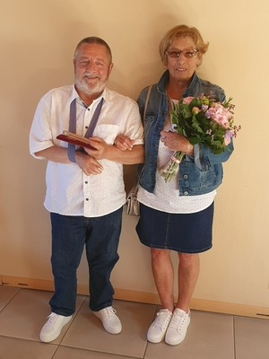 Victorine Lancelot et Paul Poncin - 15 mai 2020