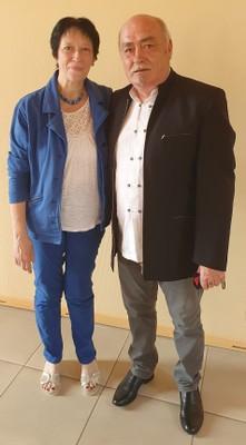 Freddy Lonsdorfer et Christine Deville - 17 juin 2021
