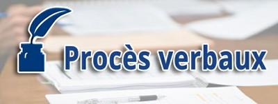 Procès verbaux