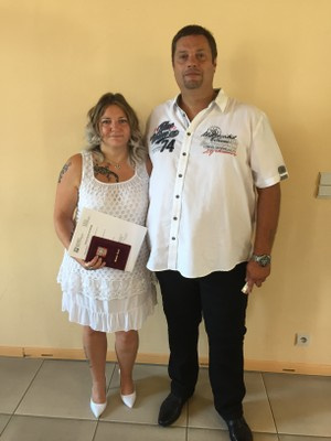 John Depotter et Jessica Hendschel - 04/08/2018