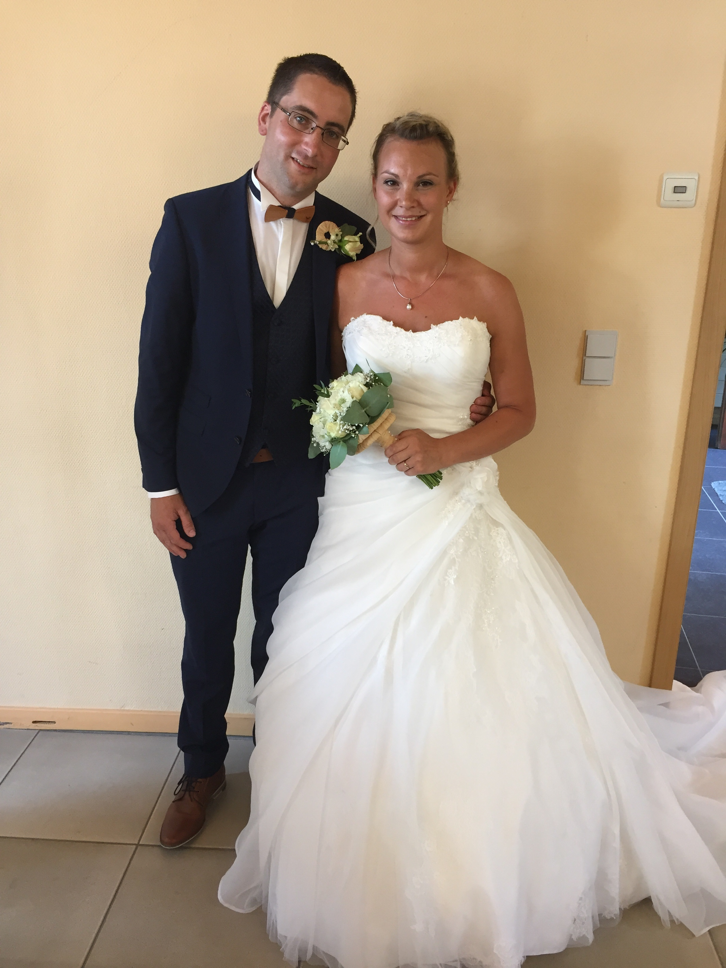 Bruno Petitfrère et Julie Houssa - 04/08/2018
