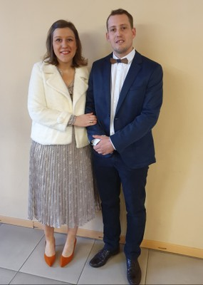Fabrice Célis et Marie Comté-18/01/2020.
