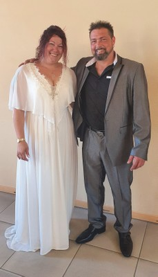 William Valente et Jessika Miler  -  21 août 2020.